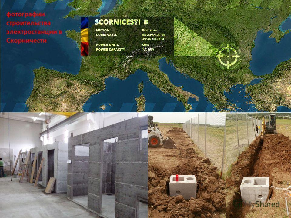 фотографии строительства электростанции в Скорничести