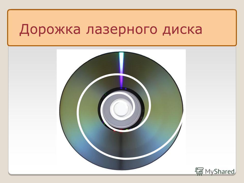Дорожка лазерного диска