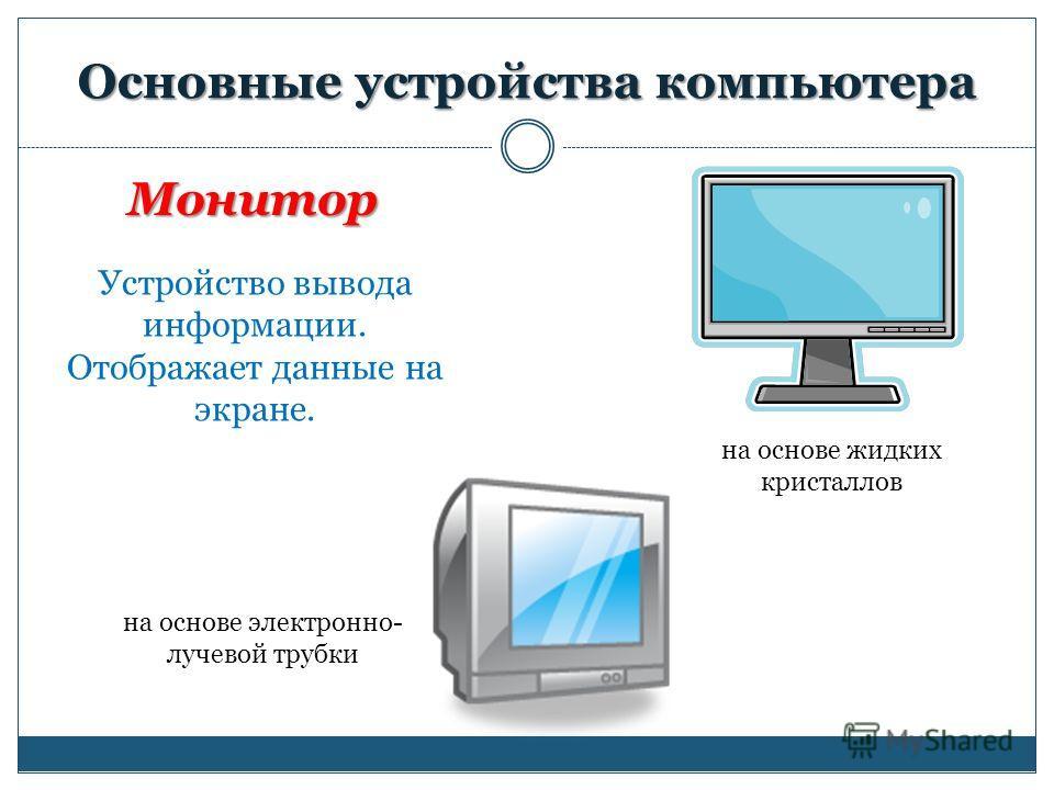 Архитектура компьютера презентация