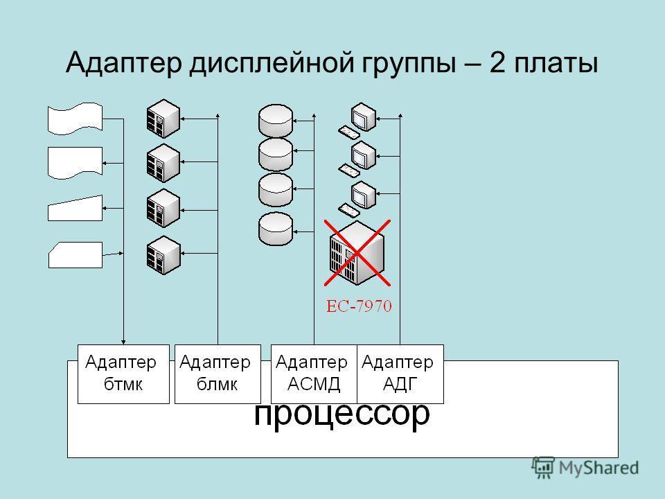 Адаптер дисплейной группы – 2 платы