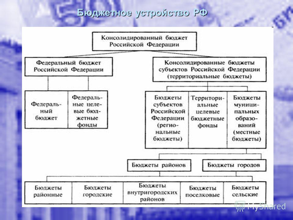 Бюджетное устройство РФ