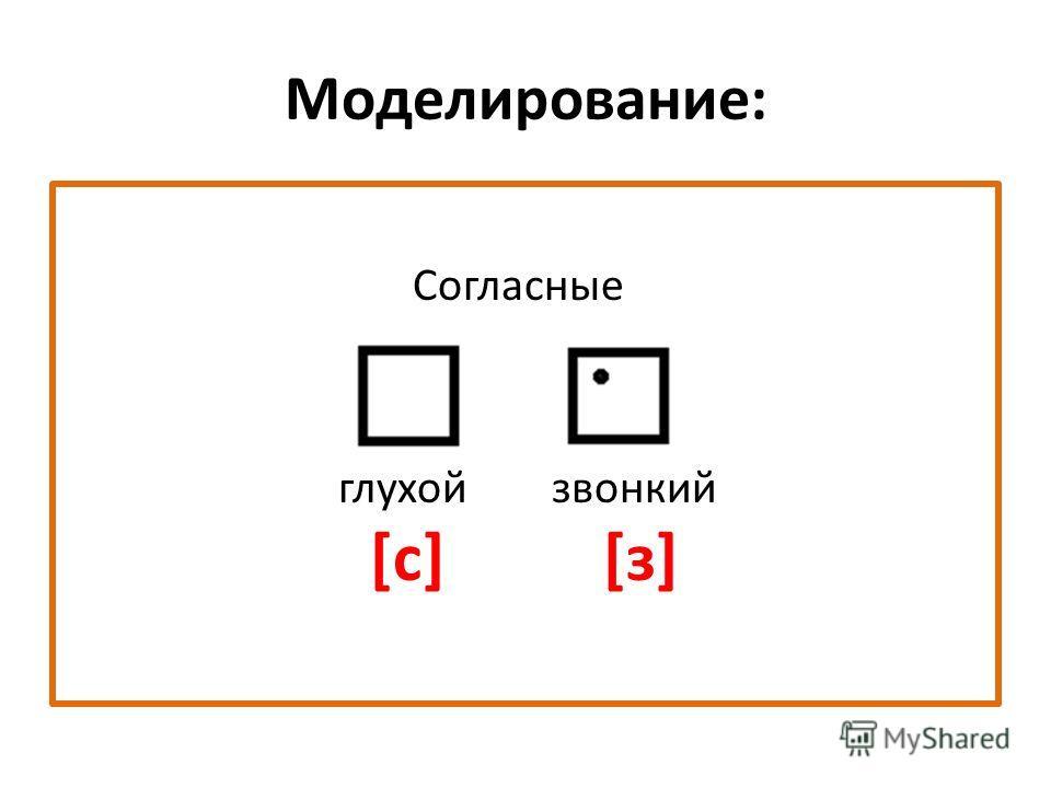 Практическая работа-исследование: [з][з] [c]