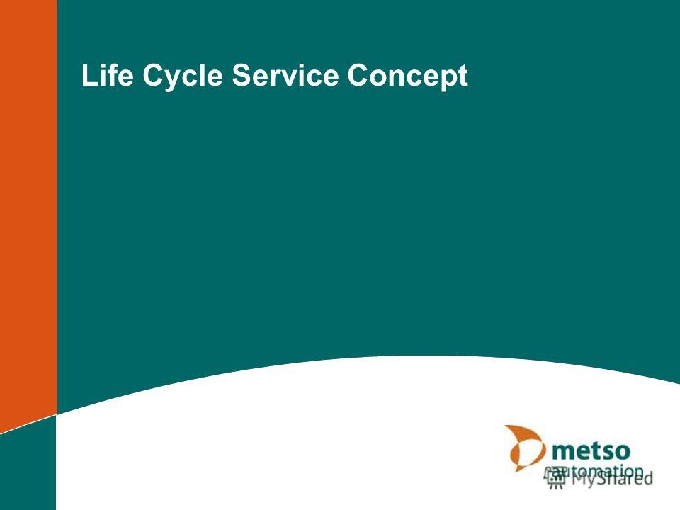 Life Cycle Service Concept