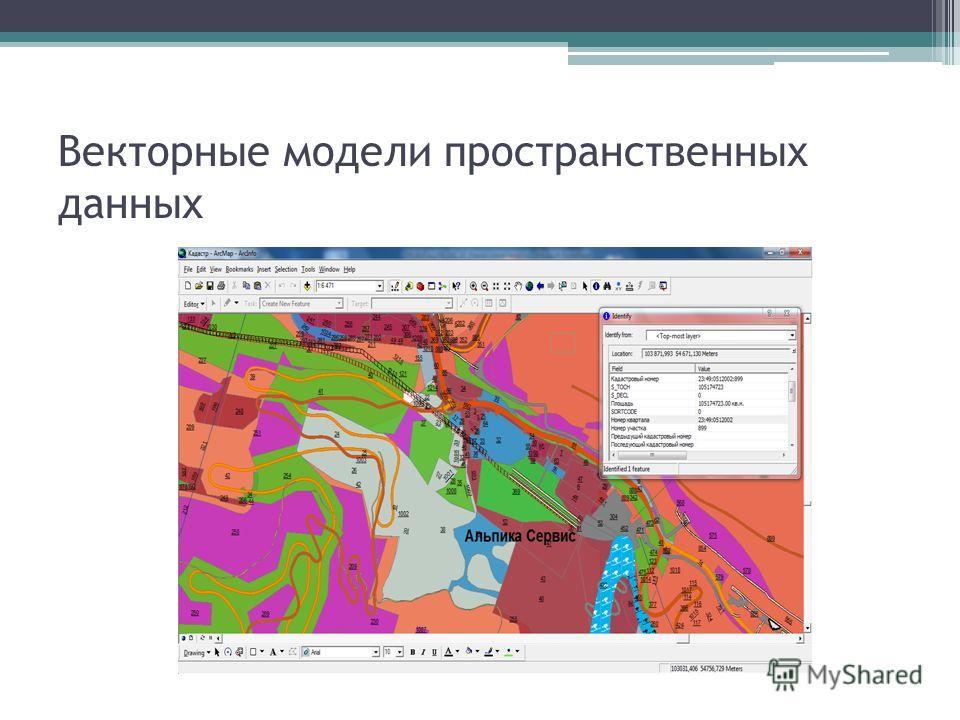 Векторные модели пространственных данных