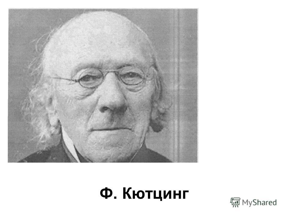 Ф. Кютцинг