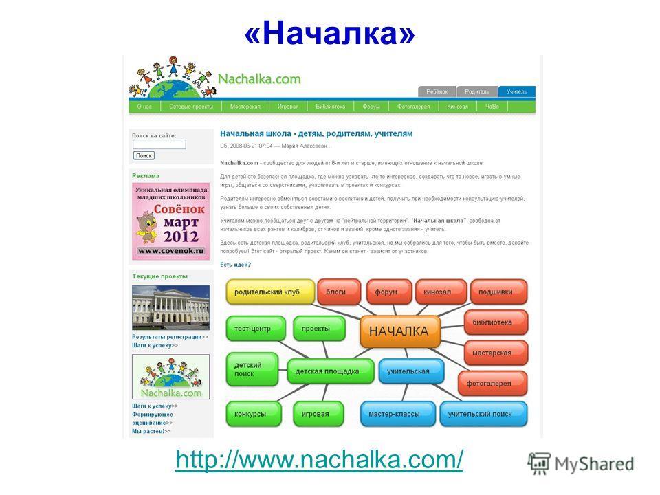 http://www.nachalka.com/ «Началка»