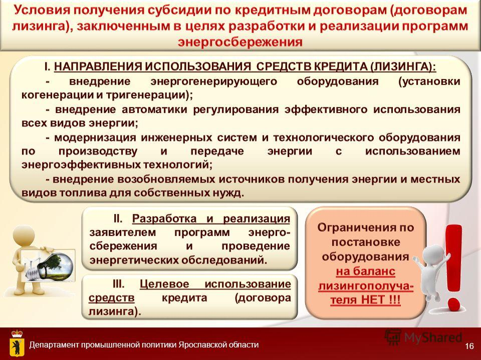 Департамент промышленной политики Ярославской области 16