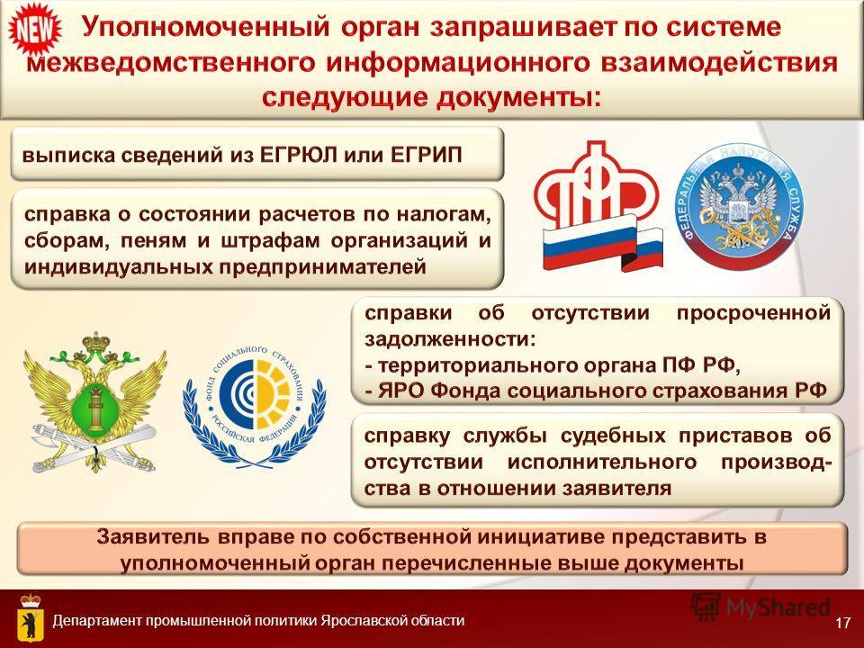 Департамент промышленной политики Ярославской области 17