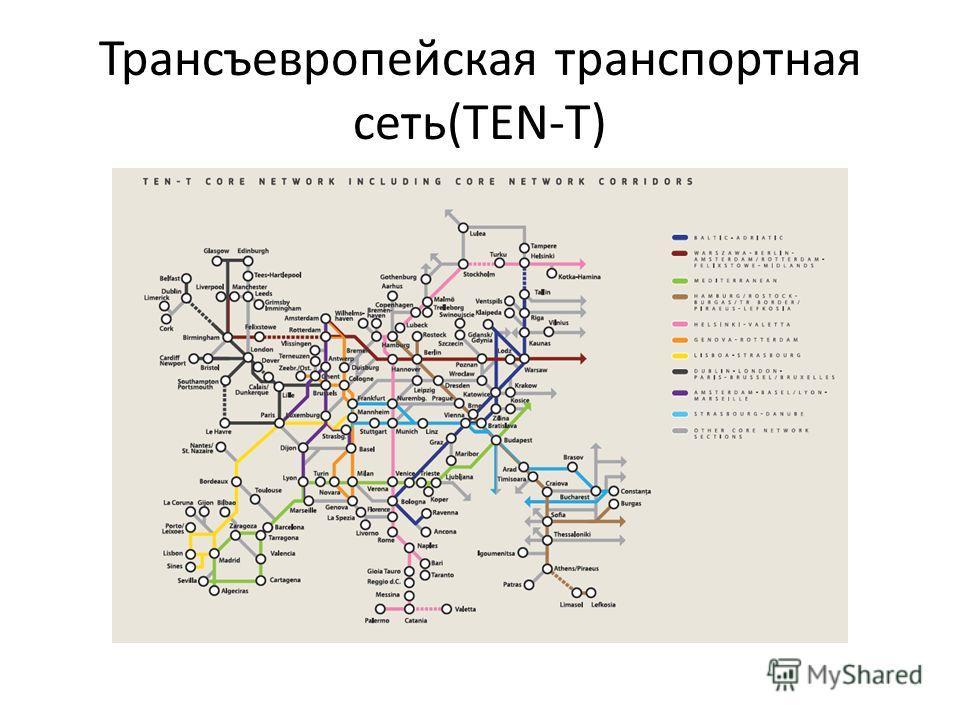 Трансъевропейская транспортная сеть(TEN-T)