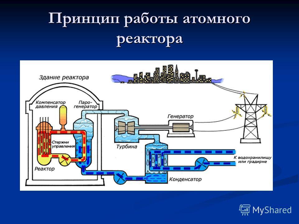 Принцип работы атомного реактора
