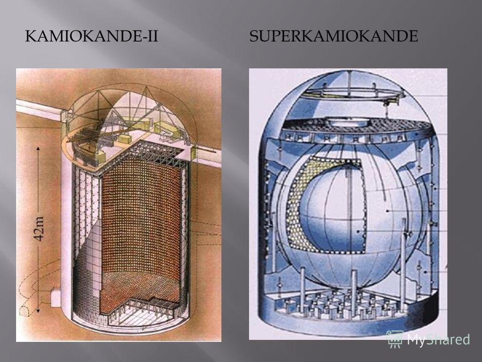 KAMIOKANDE-IISUPERKAMIOKANDE