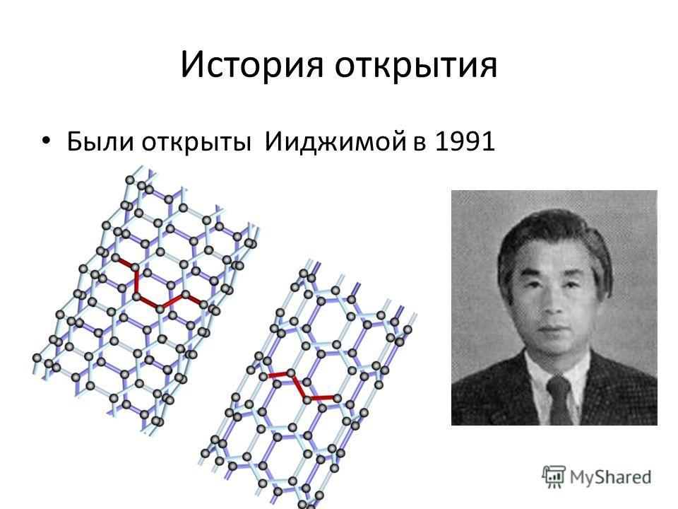 История открытия Были открыты Ииджимой в 1991