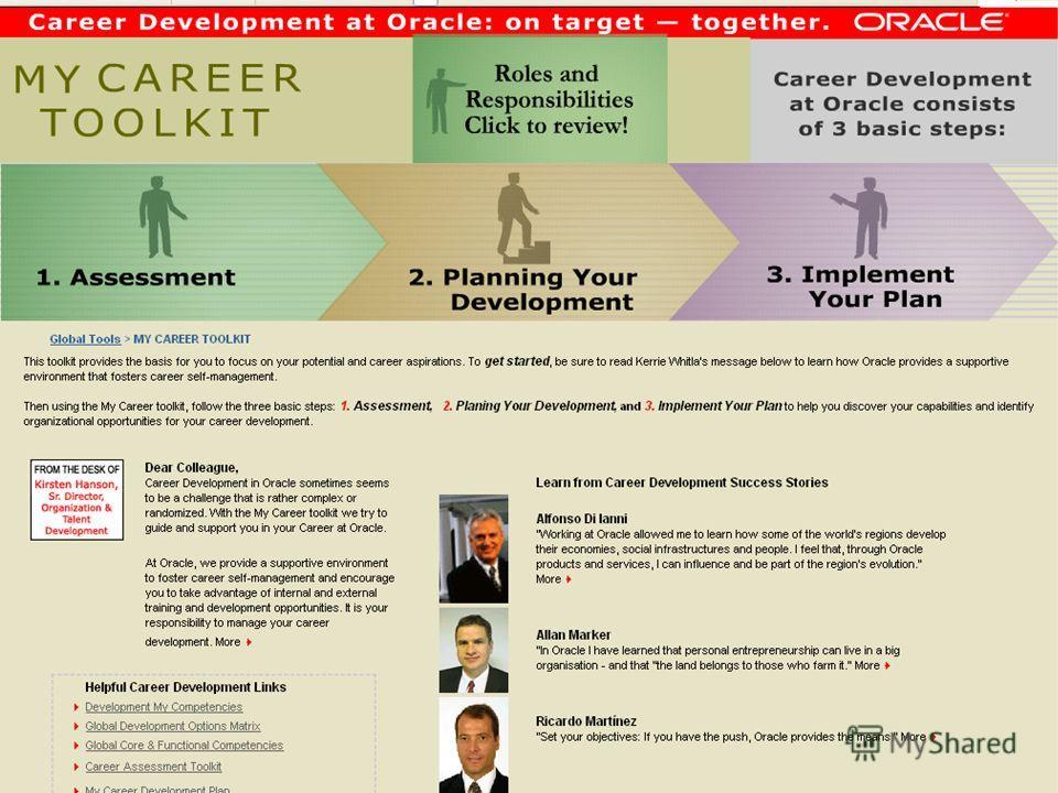 EMEA Career Planning Framework