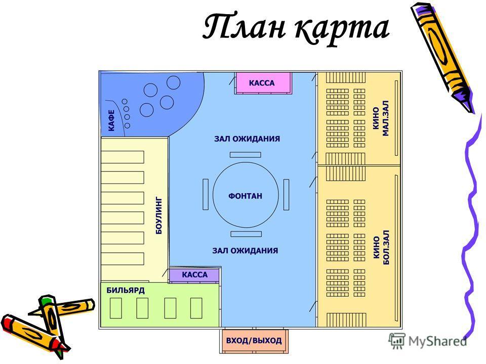 План карта