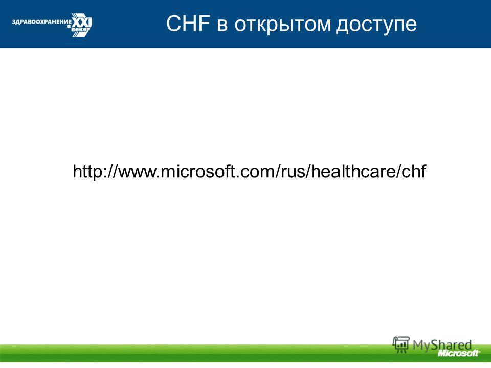 CHF в открытом доступе http://www.microsoft.com/rus/healthcare/chf