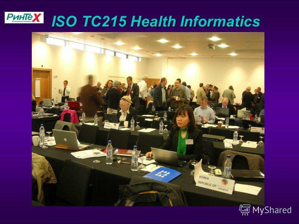 ISO TC215 Health Informatics