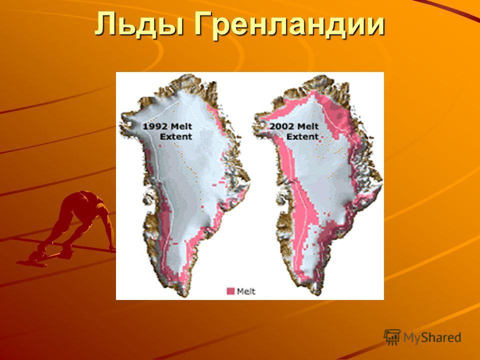 Льды Гренландии Льды Гренландии