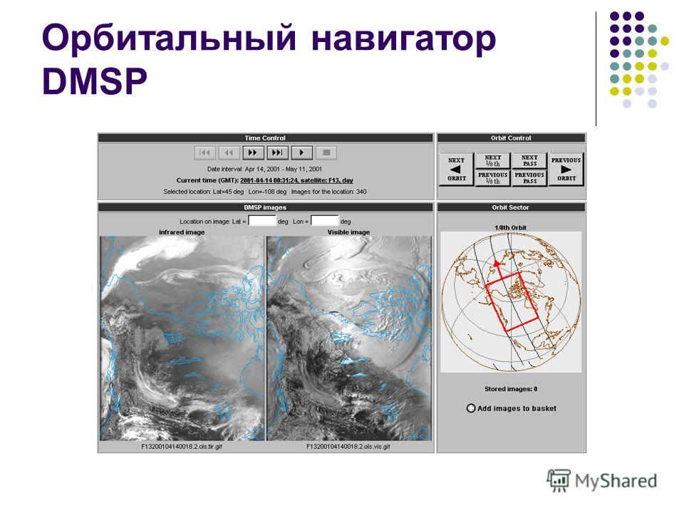 Орбитальный навигатор DMSP