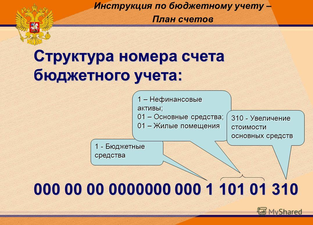 Бюджетный учет по инструкции
