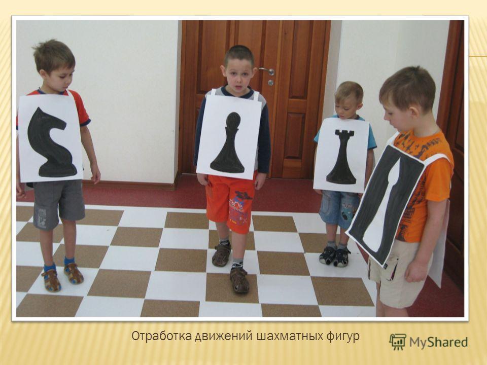 Отработка движений шахматных фигур