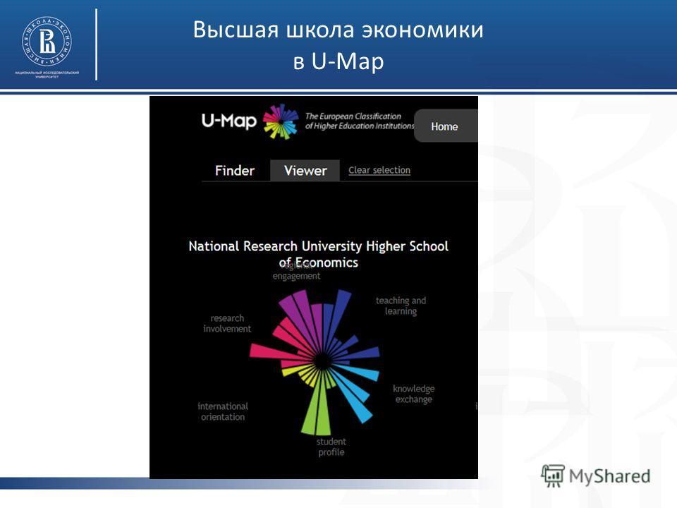 Высшая школа экономики в U-Map