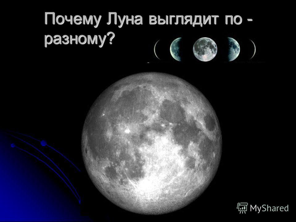 Как выглядит Луна?