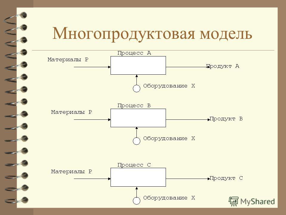 Многопродуктовая модель
