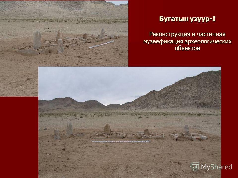 Бугатын узуур-I Реконструкция и частичная музеефикация археологических объектов
