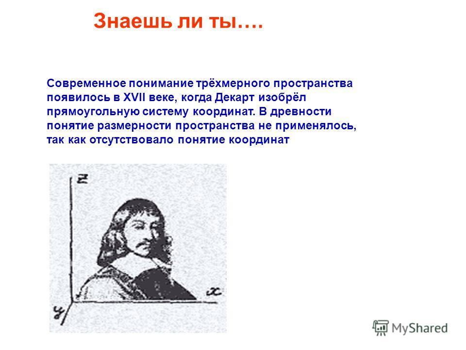 Системы отсчёта. 0 1. Одномерная х А А(х) 2.Двухмерная У Х о В (Х; У) 3.Трёхмерная Х У Z С (Х;У;Z)