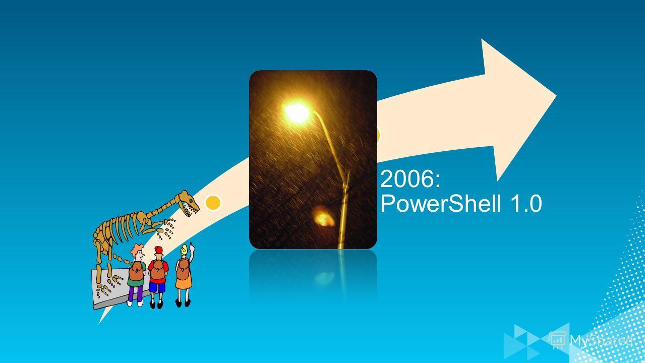 2006: PowerShell 1.0