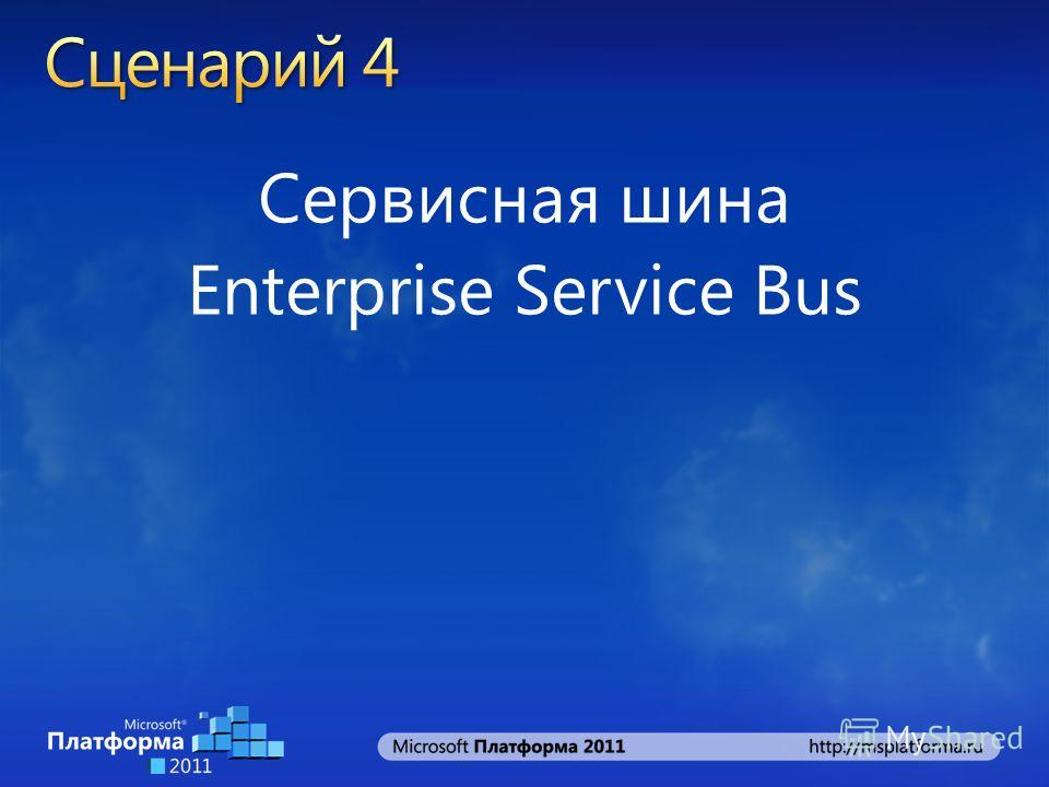 Сервисная шина Enterprise Service Bus