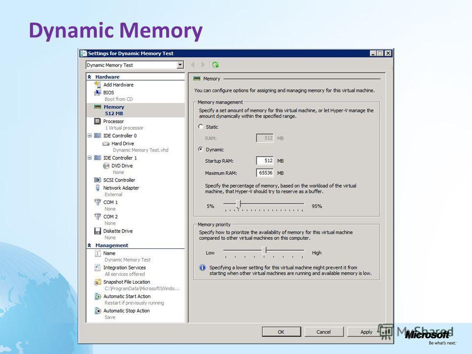 Dynamic Memory