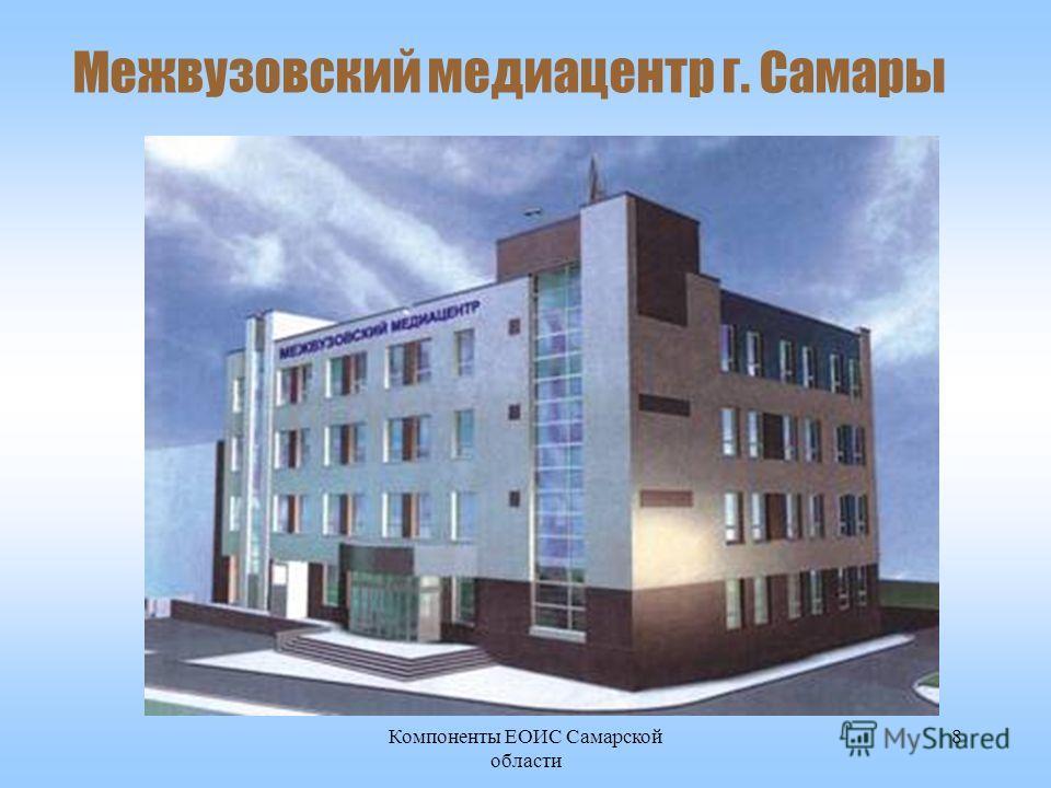 Компоненты ЕОИС Самарской области 8 Межвузовский медиацентр г. Самары