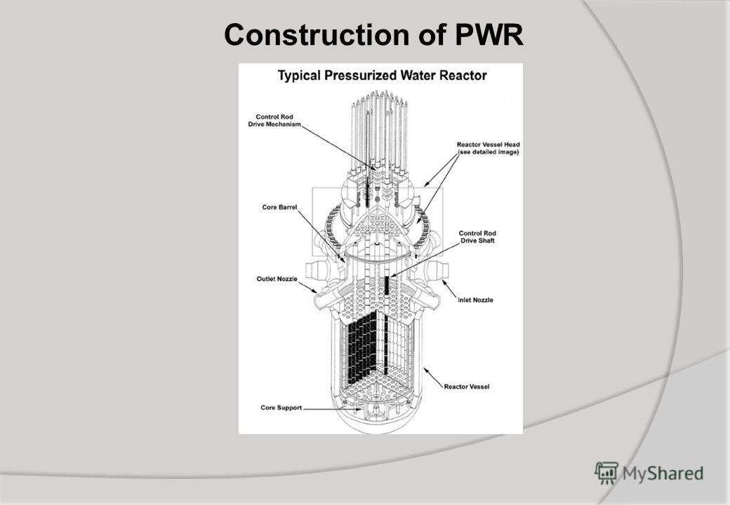 Construction of PWR