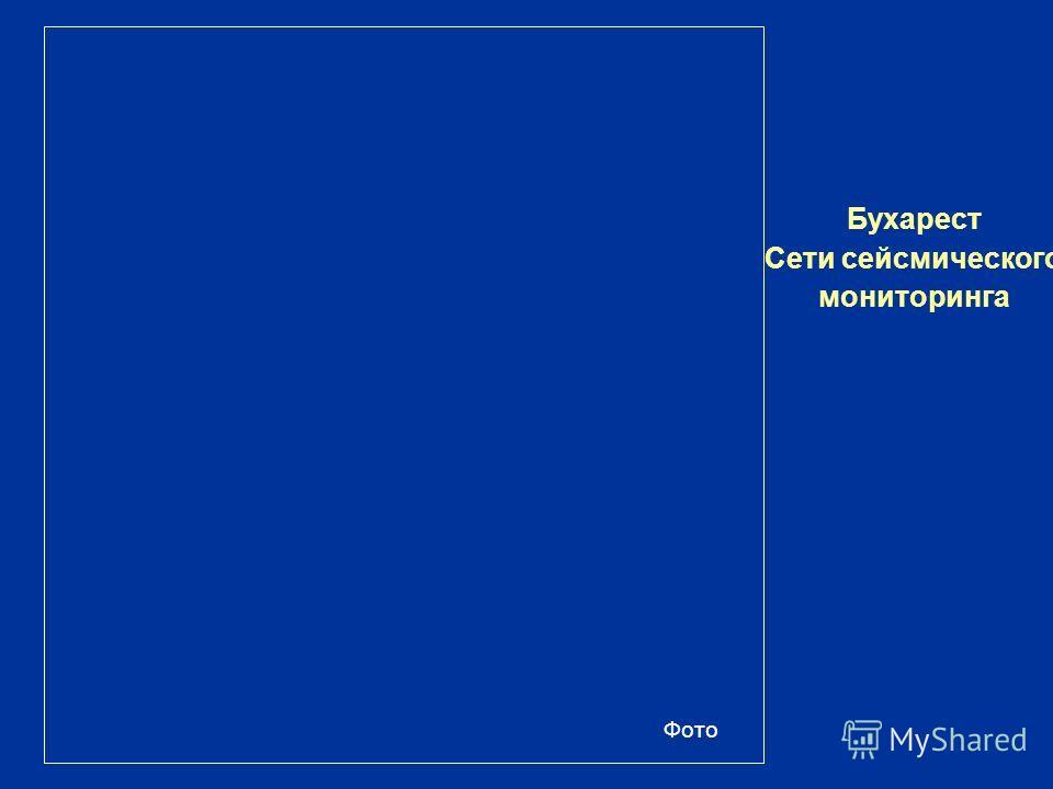 Бухарест Сети сейсмического мониторинга Фото