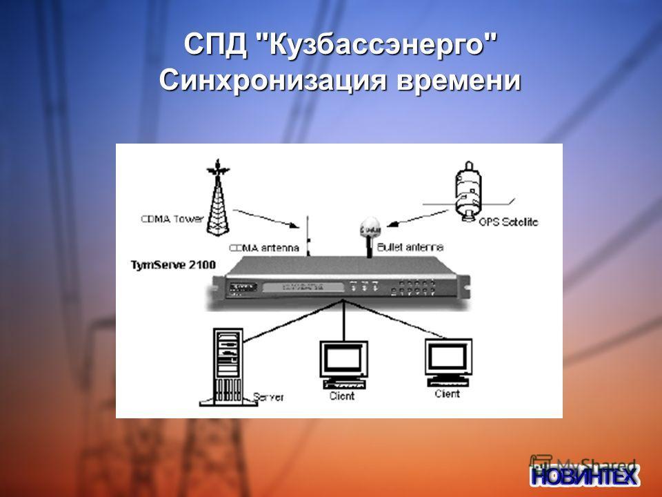 СПД Кузбассэнерго Синхронизация времени