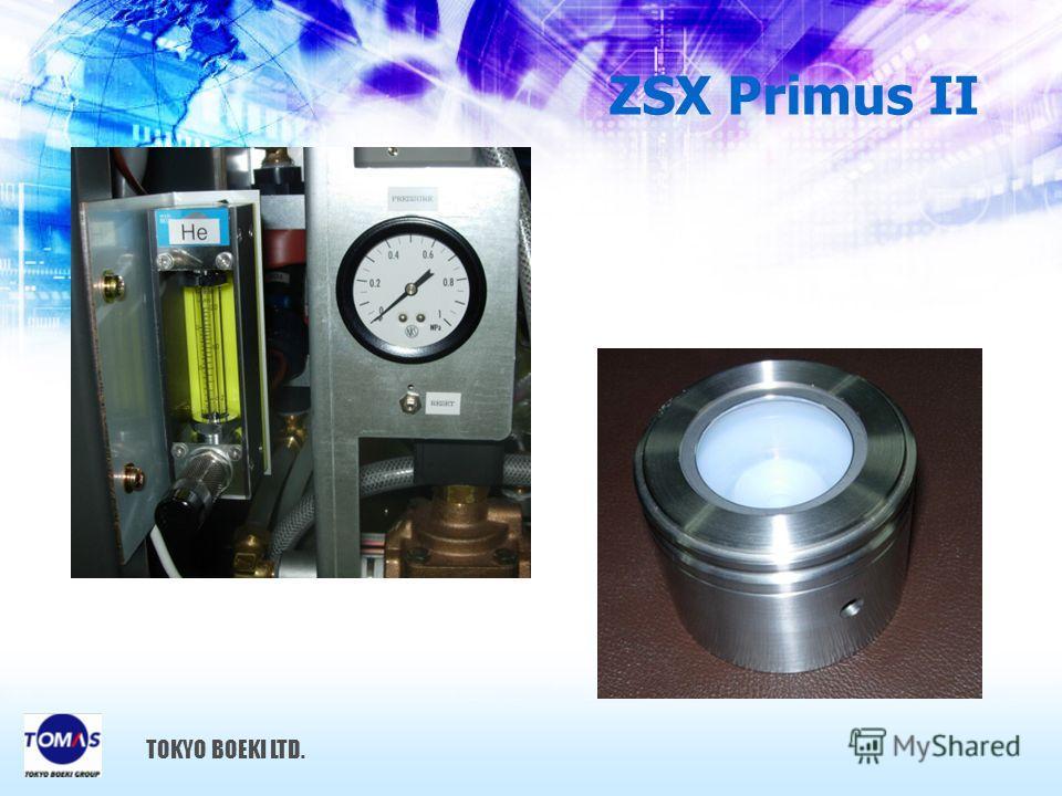 ZSX Primus II TOKYO BOEKI LTD.