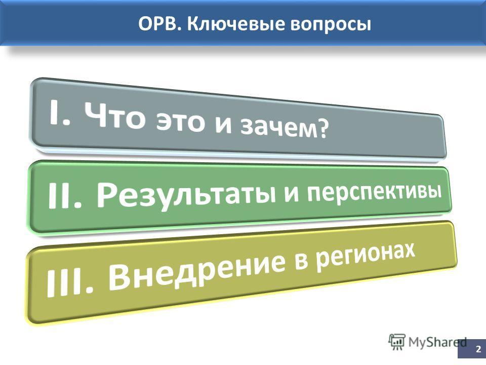 ОРВ. Ключевые вопросы 2