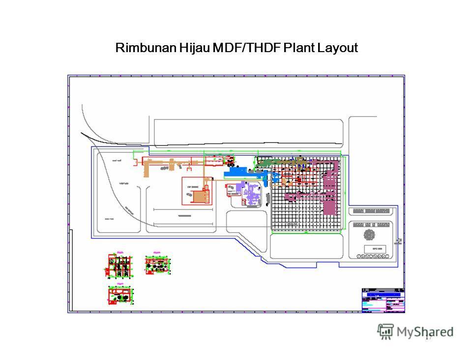 17 Rimbunan Hijau MDF/THDF Plant Layout