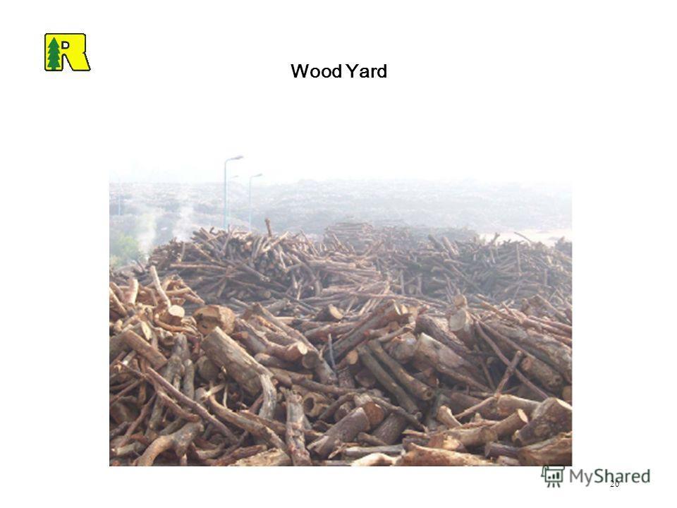 20 Wood Yard