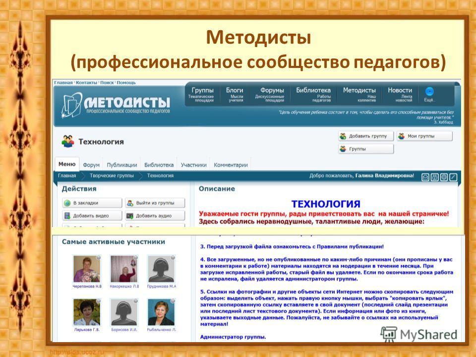 Методисты (профессиональное сообщество педагогов)