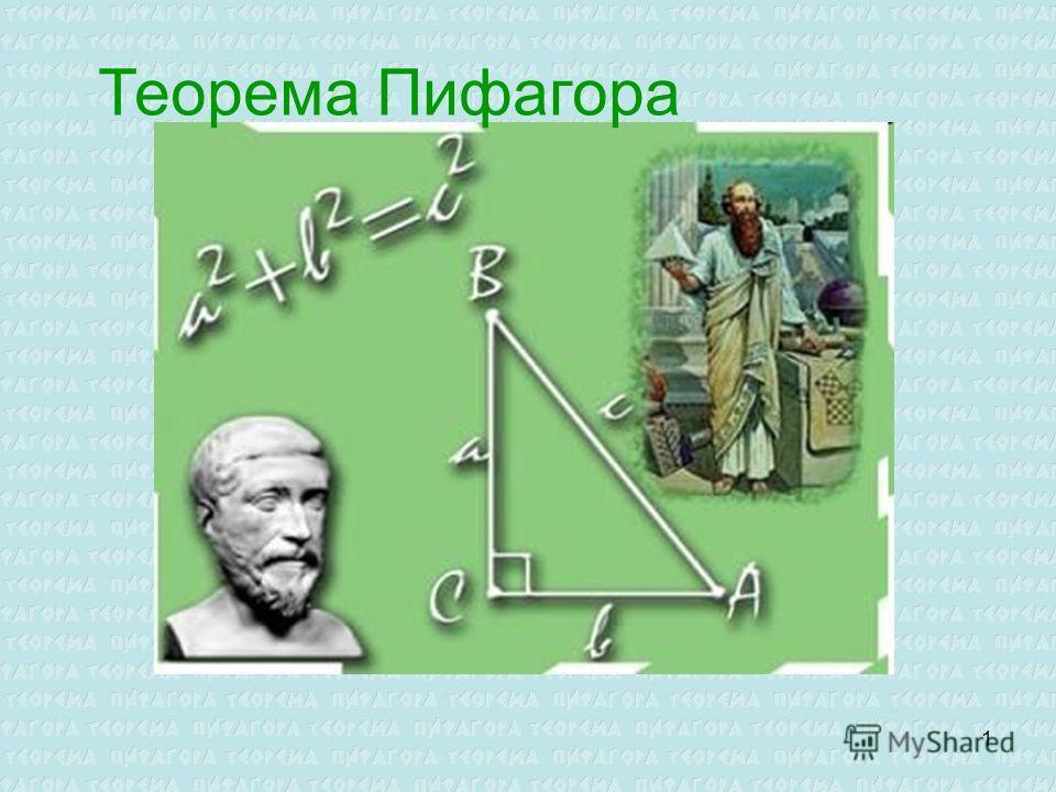 1 Теорема Пифагора