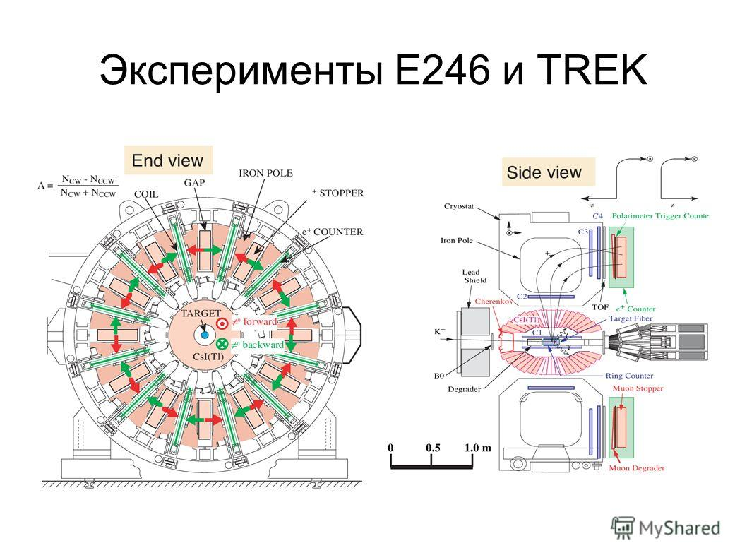 Эксперименты E246 и TREK