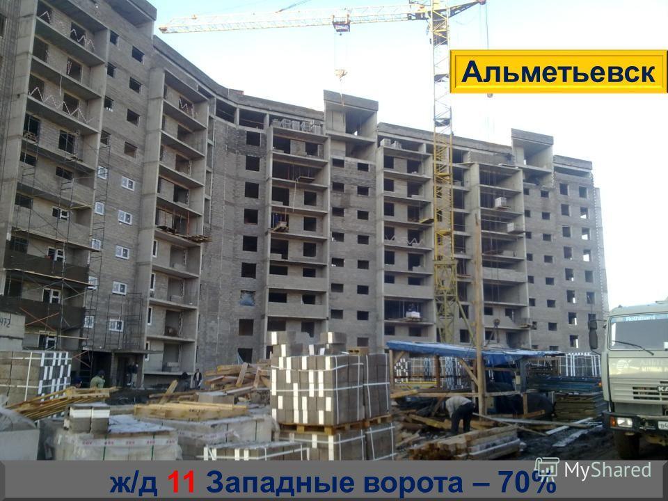 ж/д 11 Западные ворота – 70% Альметьевск