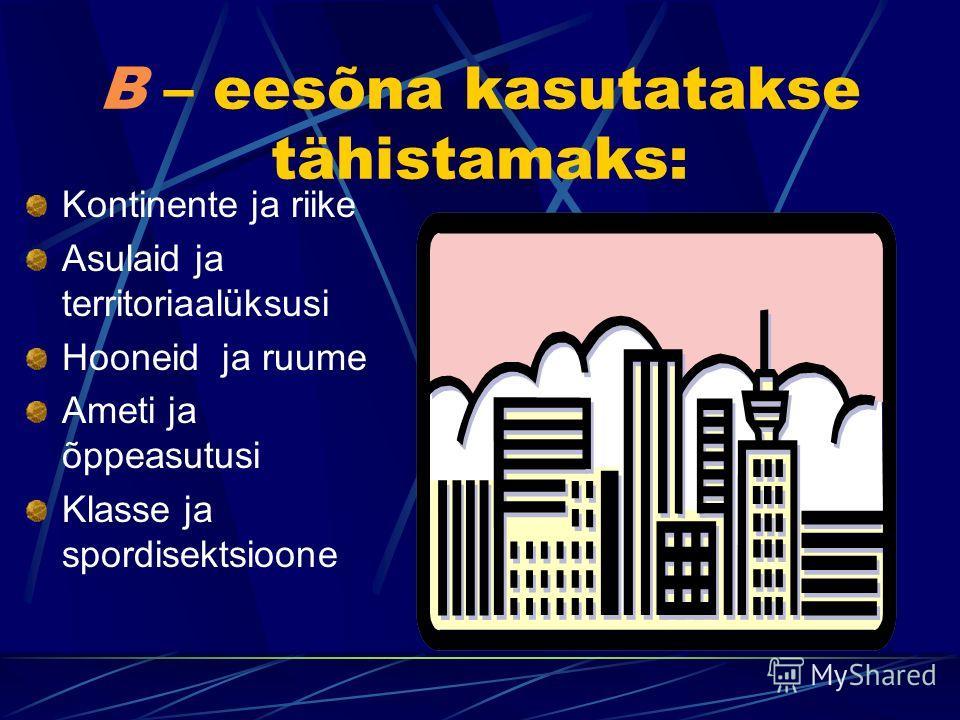 Eessõnade B ja HA kasutamine vene keeles, vastates küsimusele ГДЕ? (kus? kus kohas? ) Jelena Kesselmann Võru Kreurtzwaldi Gümnaasium