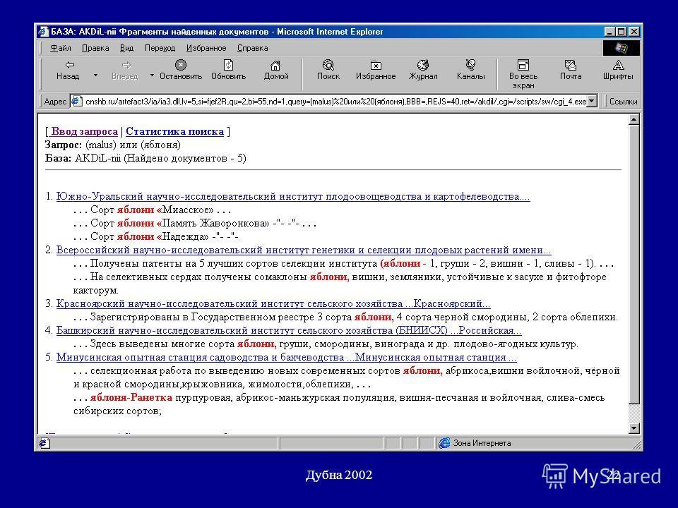 Дубна 200222
