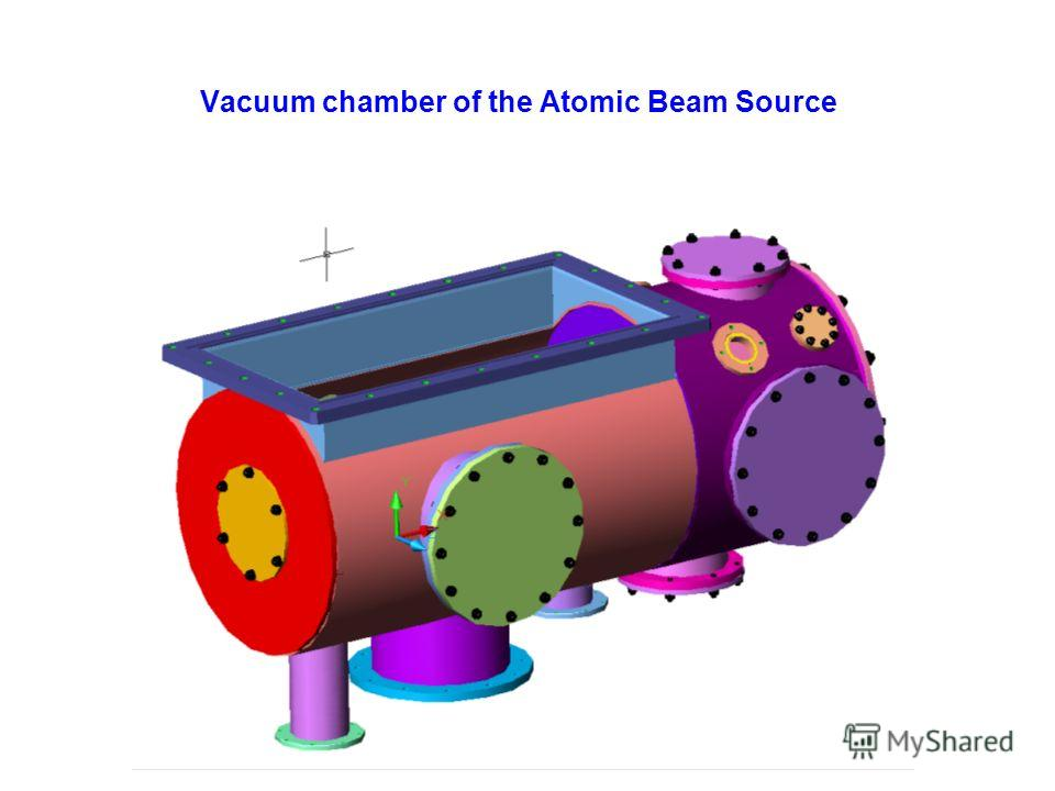 Vacuum chamber of the Atomic Beam Source