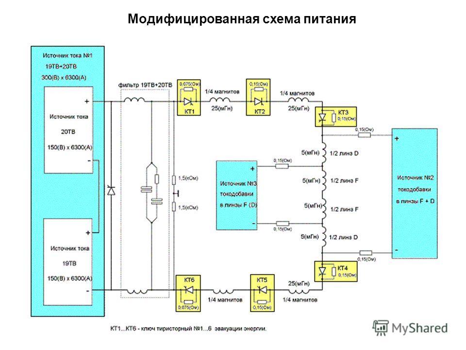 Модифицированная схема питания