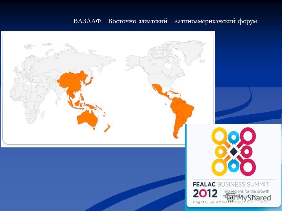 ВАЗЛАФ – Восточно-азиатский – латиноамериканский форум