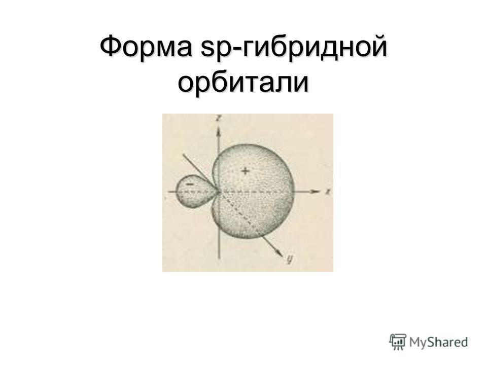 Гибридизация АО Гибридизация (смешивание) АО происходит в случае образования атомом нескольких химических связей за счет электронов разных подуровней Гибридизация приводит к наиболее эффективному (максимальному) перекрыванию АО и поэтому энергетическ